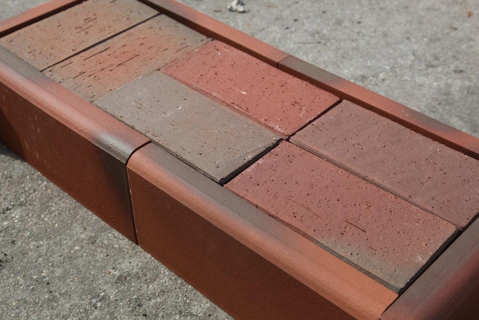 Клинкер бордюрный камень жби для панельных домов